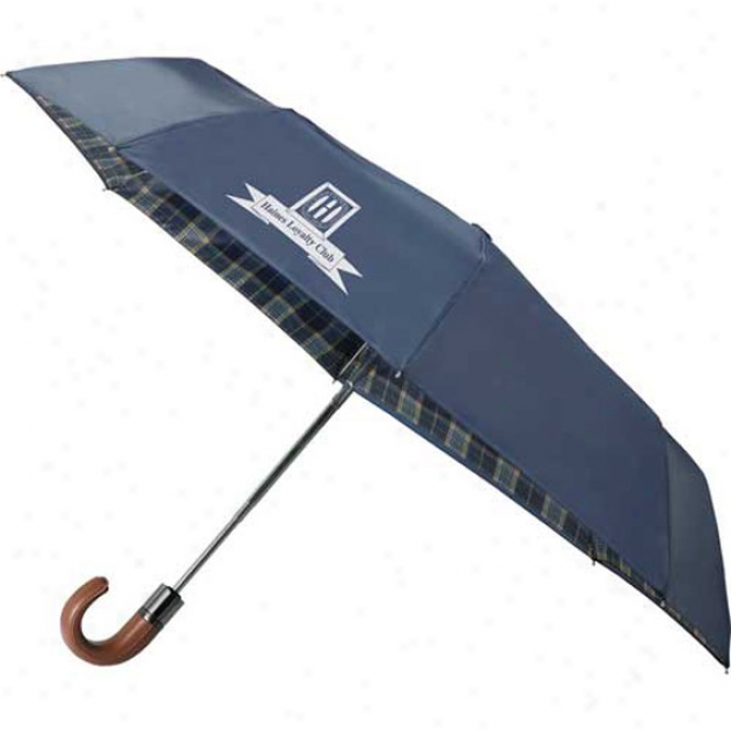 "42"" Highlander Folding Auto Umbrella"
