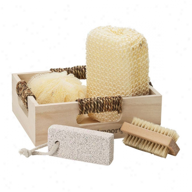 4pc Spa Set In Box