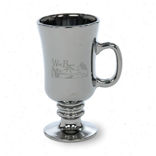 8 1/2 Oz. Lusterwaer Fullplate Irish Coffee Glass