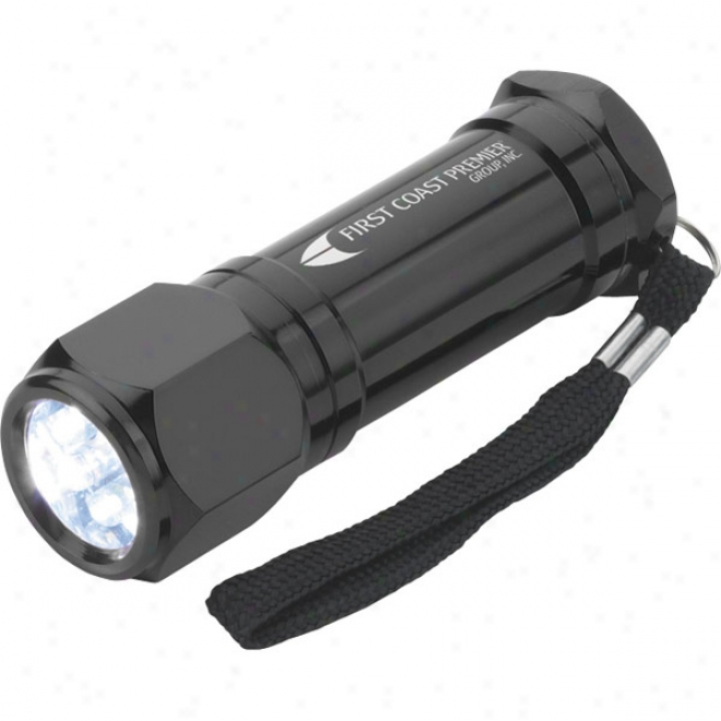 8 Led Aluminum Flashlight