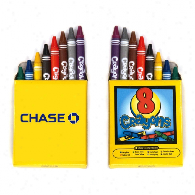 8-pack Crayons