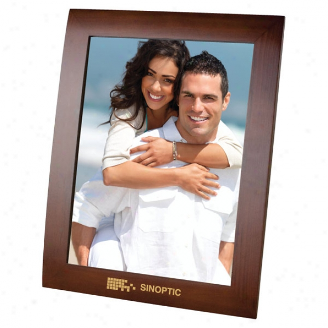 8x10 Wslnut Finish Photo Frame