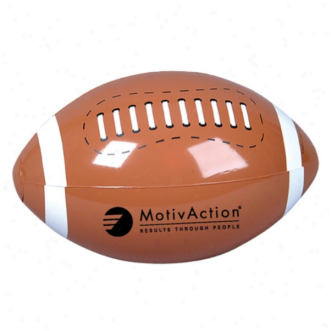 "9"" Football Beach Ball"