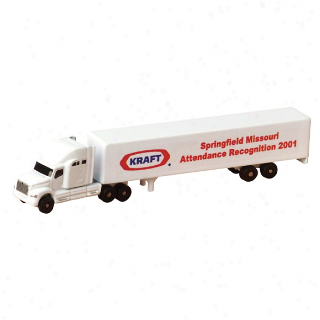 All Die Cast Usual Seleper With Trailer (1:256 Scale)