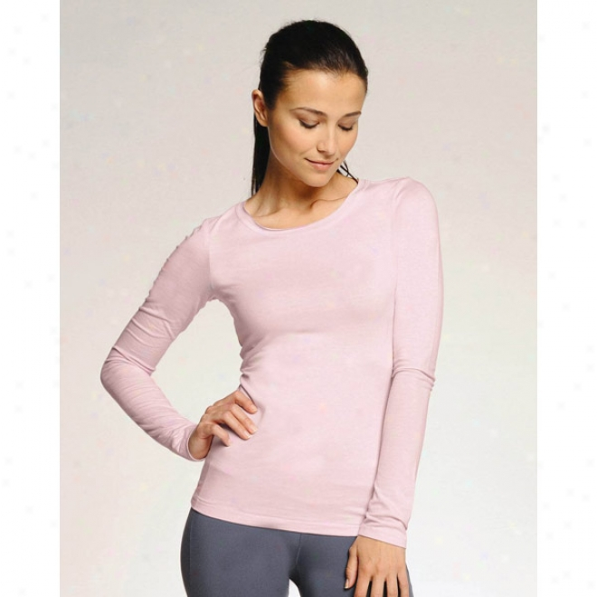 Alo Ladies' Long Sleeve Bamboo T-shirt