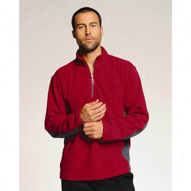 Alo Men's Microfleece  1/4  Zip Pullover