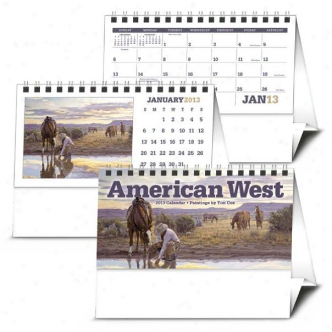 American West By Tim Cox Desk