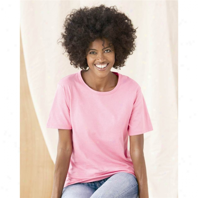Anvil Ladies' Scoop Neck T-shirt