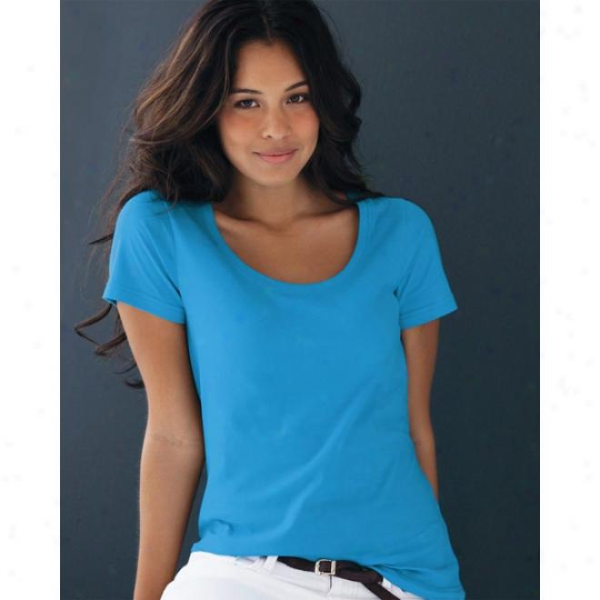 Anvil - Ladies' Sheer Scoopneck T-shirt
