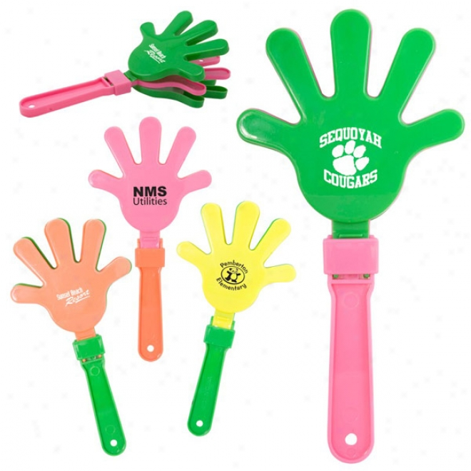 Assorfed Neon Color Hand Clappers