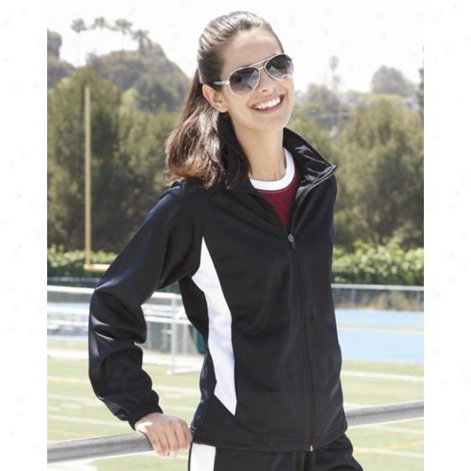 Augusta Sportswear - Ladies' Brushed Tricot Medalist Jacket