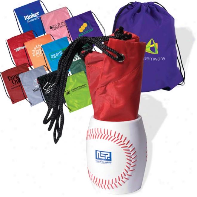 Bag-in-baseball Can Holder Combo