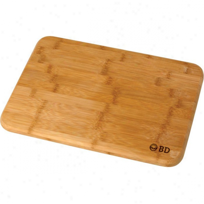 Bamboo Cutting Board W/rubber Grips (m)