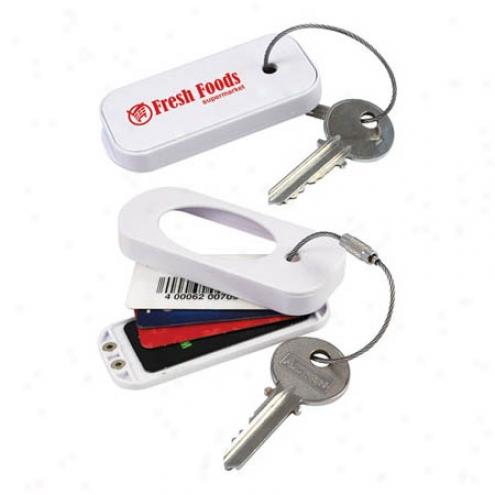 Barcode Keychain Case