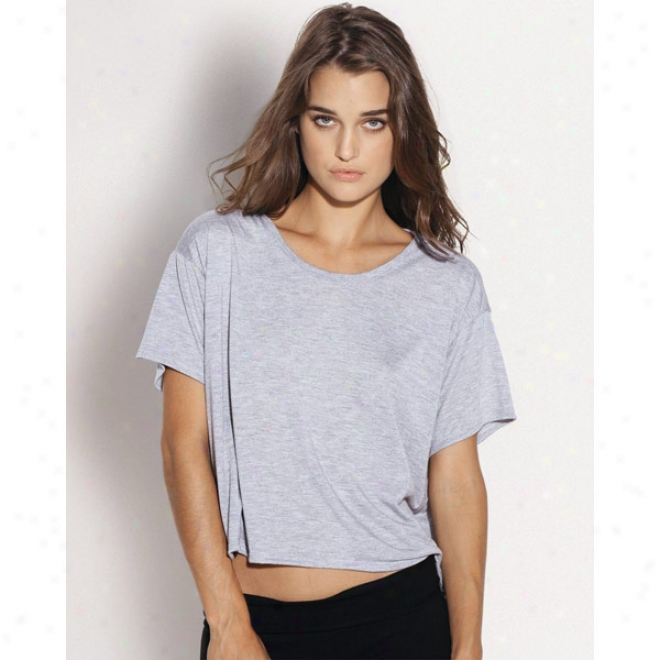 Bella - Crewneck Boxy Cropped T-shirt