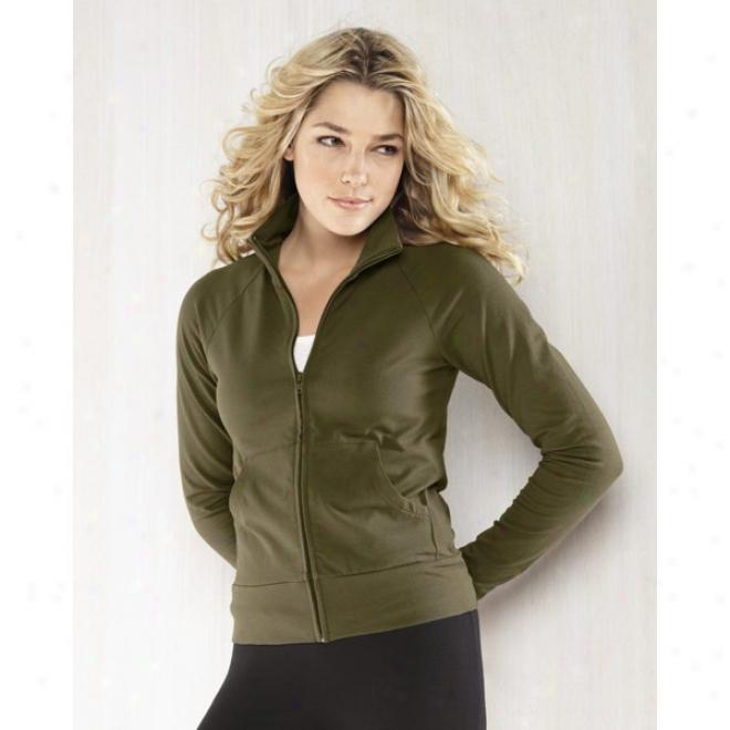 Belpa Ladies' Cotton Spandex Cadet Jacket