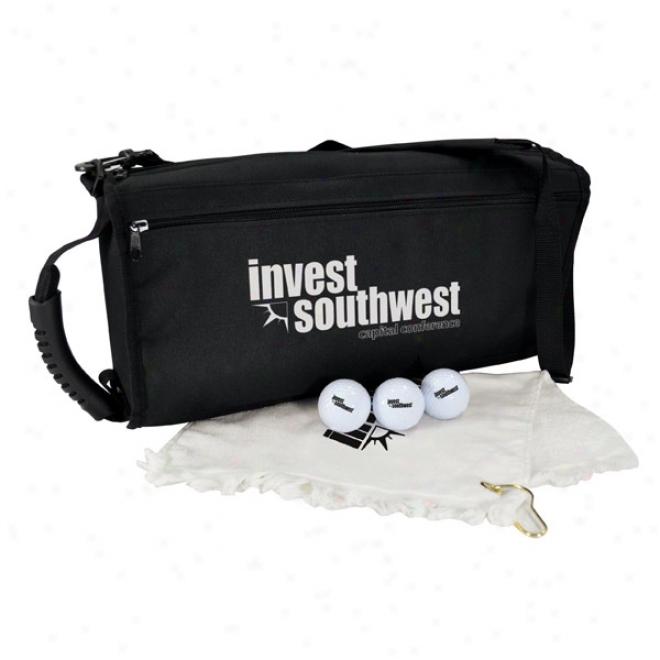 Beverage Caddy Golf Kit