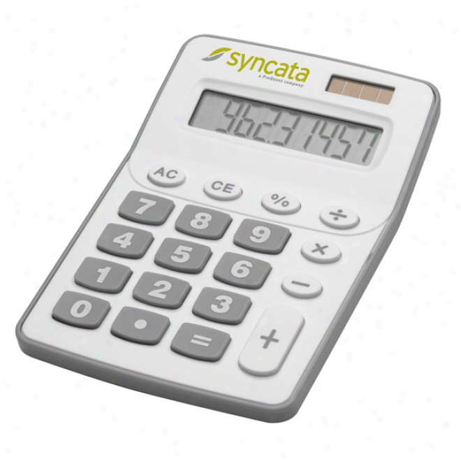 Big Button Solar Calculator