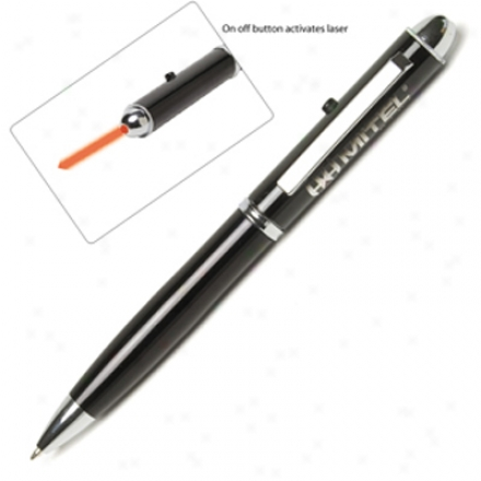 Black Laser Pointer Pen