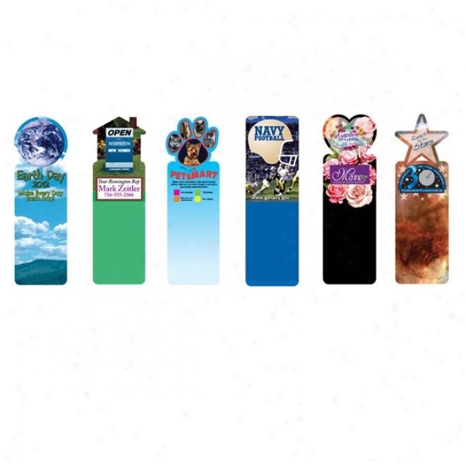 Bookmark, Satiated Color Digital (2 Side Custom Imprint)