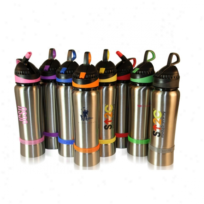 Bottle Fot A Cause 24 Oz Spotless Steel Bottle