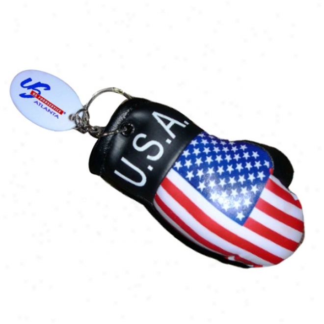 Boxing Glove W Flag