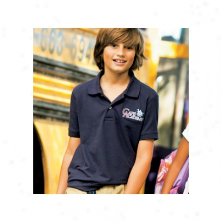 Boys Essential Blended Pique Polo