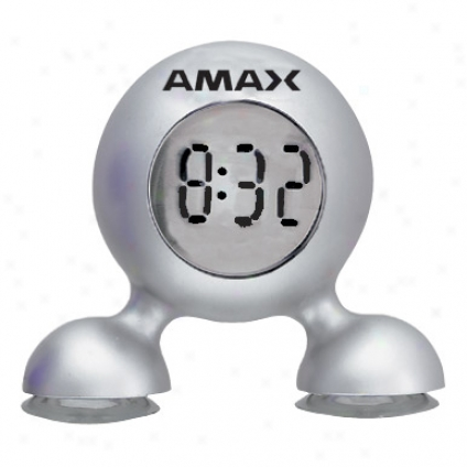 Bubble - Bubble Clock With Suction Feet That Adheres To Any Flat Surface