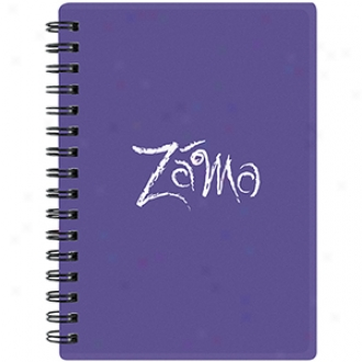 Buddy - Mini Pocket, Sipral Bound Notebook With Translucent Color Cover And 50 Lined Sheets
