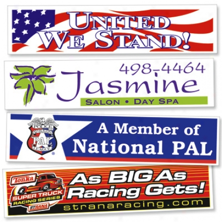 Bumper Stickers - 12""