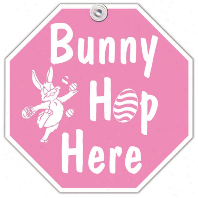 Bunny Hop Here Window Signal