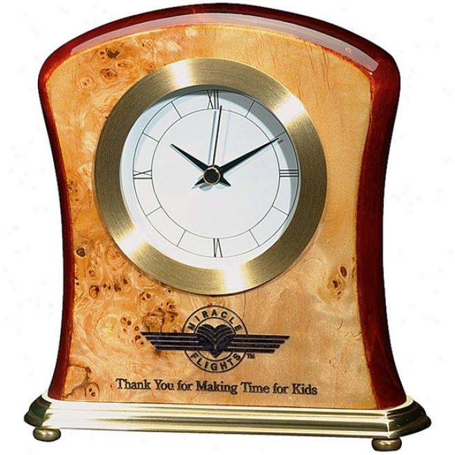 Burlwooc Clock