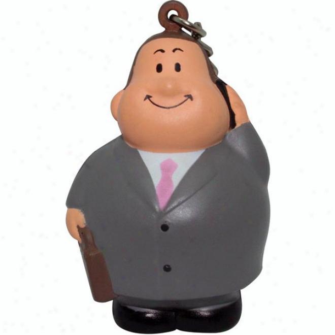 Business Bert Squeezie Keyring