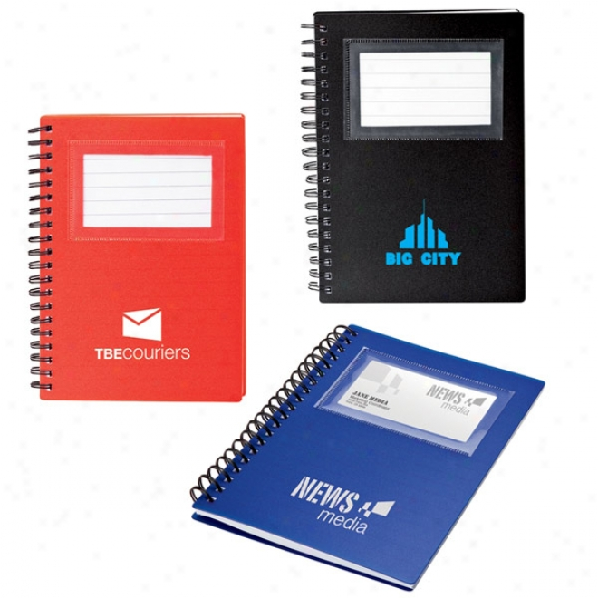 Business Card Holder Notepad