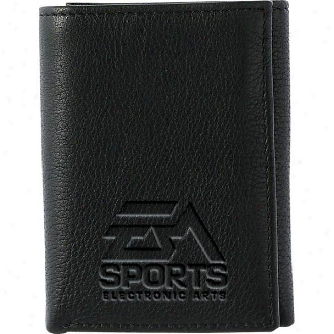 Buxton Ca\/alier Leather Threefold
