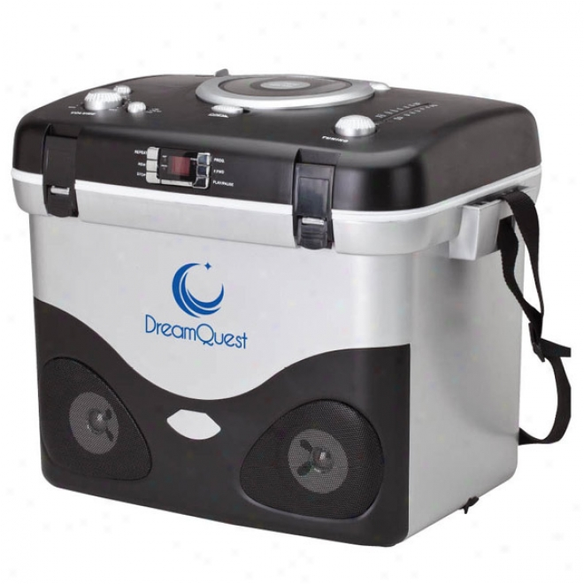 Cd Mp3/am Fm Rario Cooler