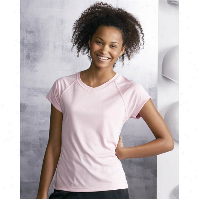 Champion Ladies' V-neck Performance T-shirt