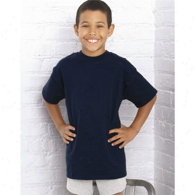 Champion - Youth Short Sleebe Tagless T-shirt