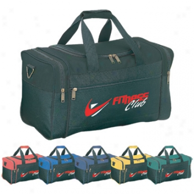 Clark Duffel - Made Of 600d Polyester With Vinyl Backing