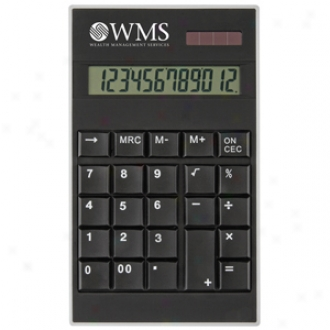 Clqss Black Desk Calculator