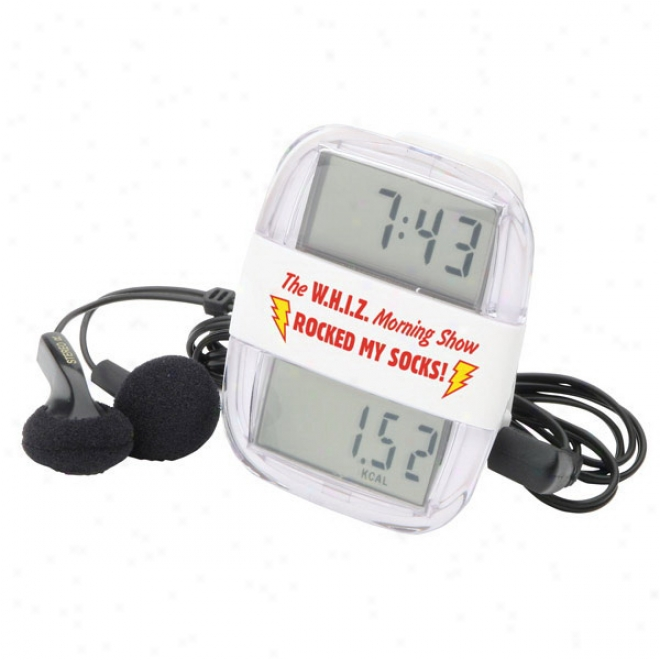 Clock Rocker Radio Pedometer