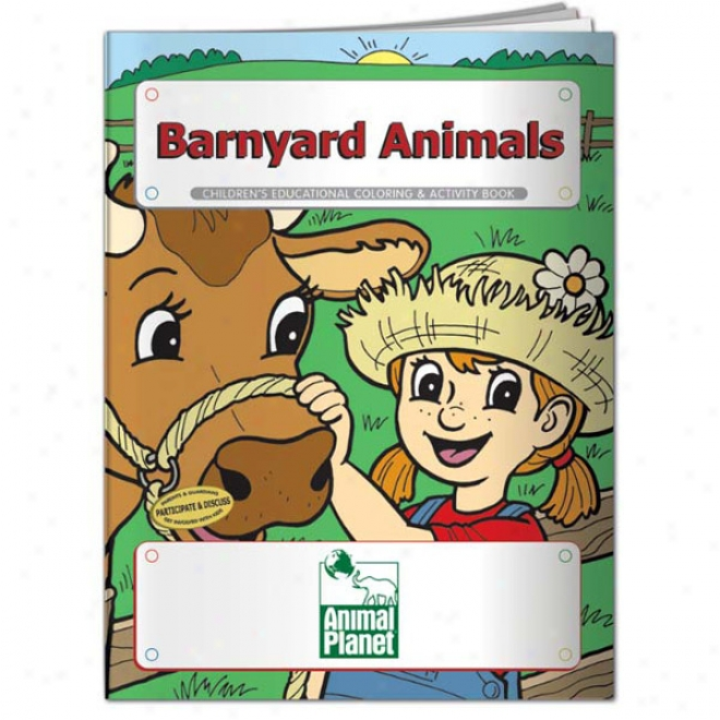 Coloring Book: Barnyard Animals