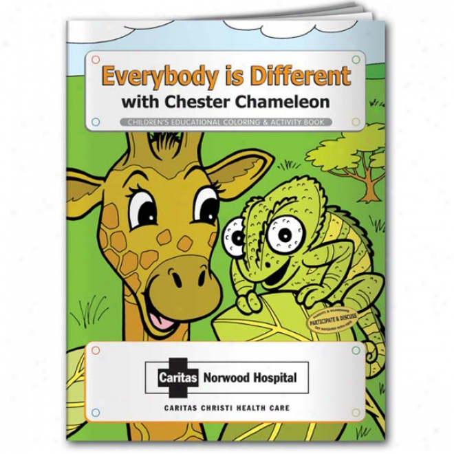 Coloring Book: Everybody Is Different