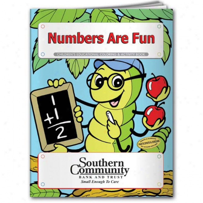 Coloring Book: Numbers Are Fun