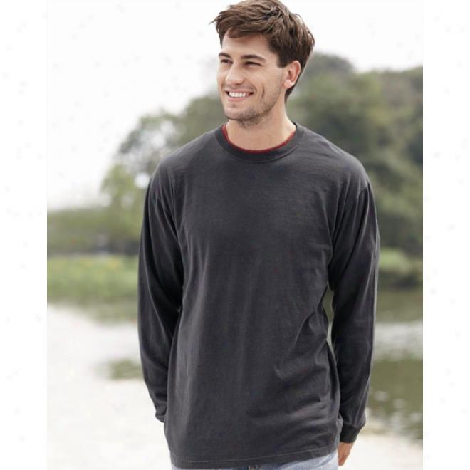 Comfort Colors - 6.1 Ounce Ringspun Cotyon Long Sleeve T-shirt