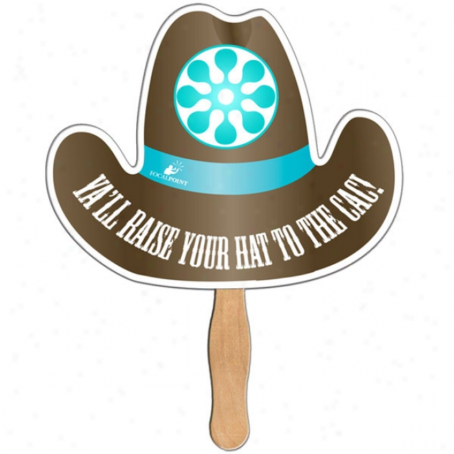 Coaboy Hat - Digital Economy Fans With Double Sided Film Lamination