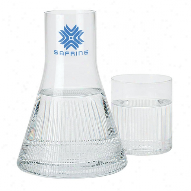 Decanter And Drinking Glass