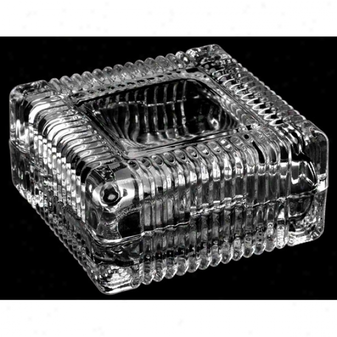 Deep Etched Crystal Box