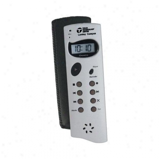 Die-cast 120 Second Digital Recorder And Reminder