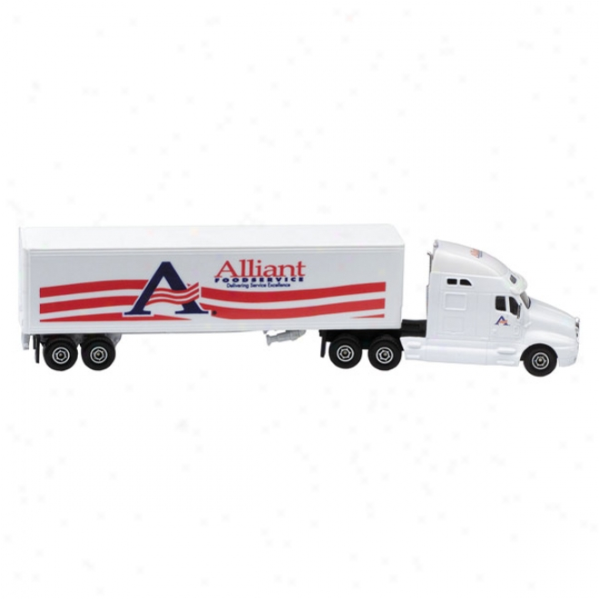 Die Cast Conventional With Trailer (1:64 Scale)